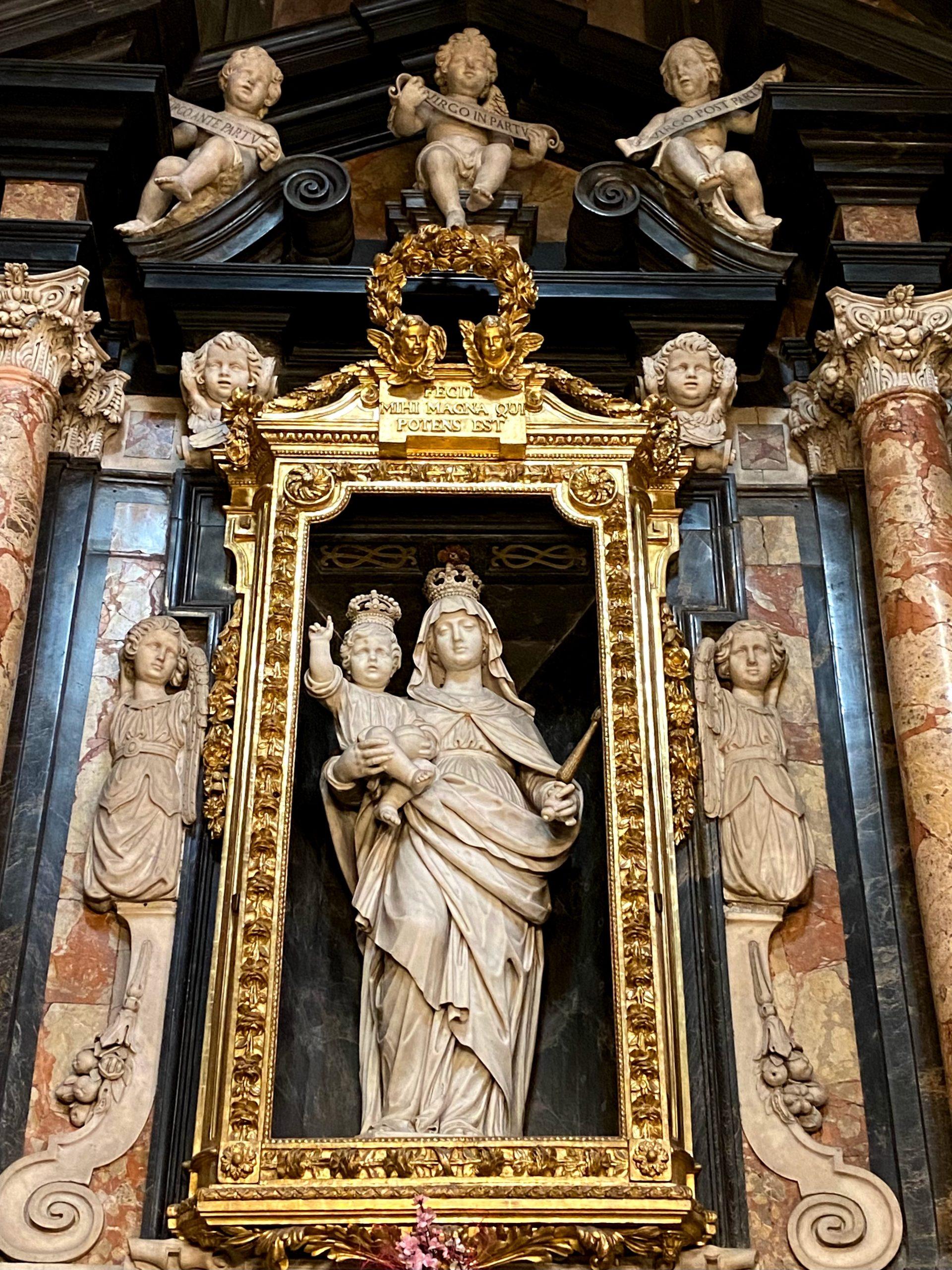 La cappella della Beata Vergine Maria