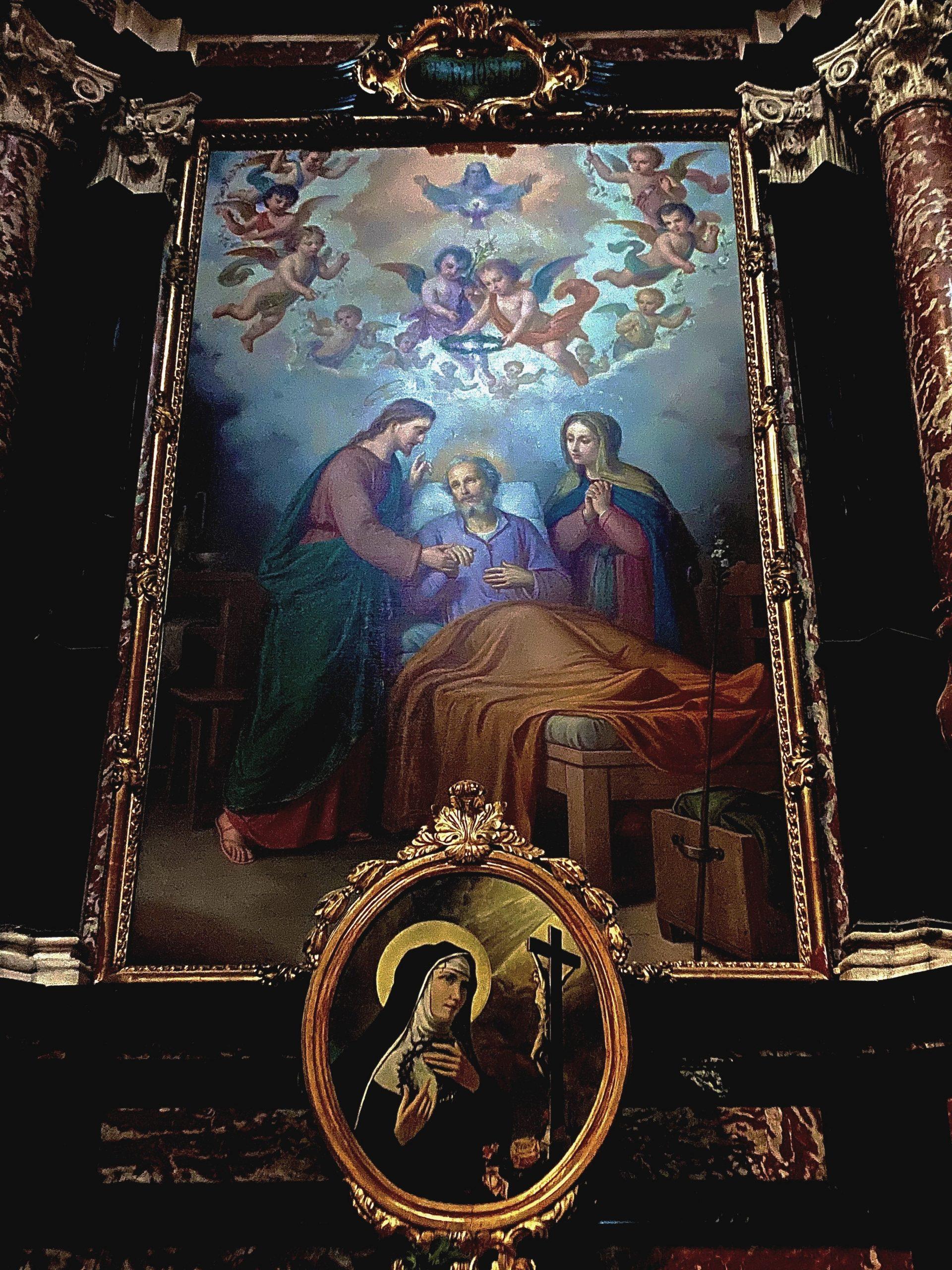 La cappella della Santissima Trinità