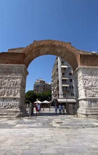 Arco di Galerio Salonicco