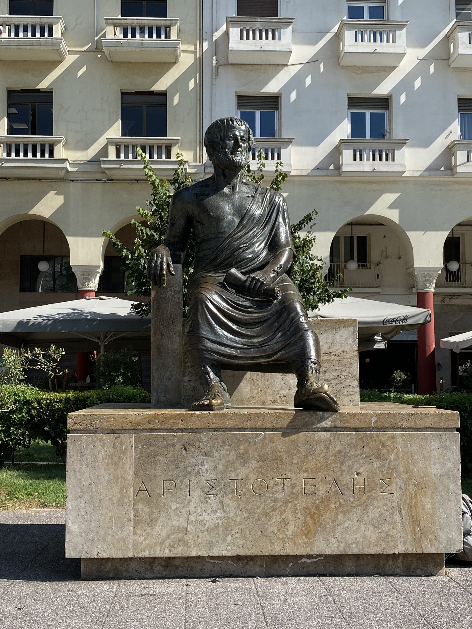 Statua Aristotele Salonicco