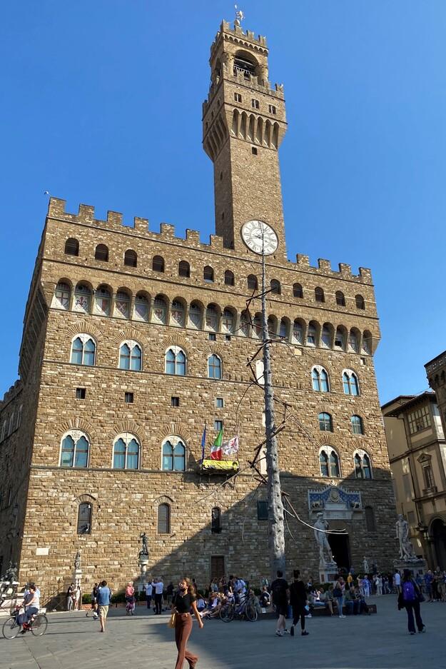 alazzo della Signoria Firenze